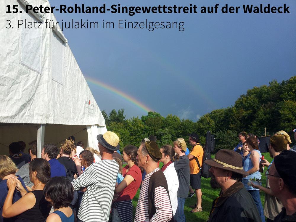 15. Peter Rohland Singewettstreit auf der Burg Waldeck